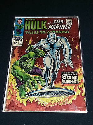 Tales to Astonish #93 - Marvel Comics - July 1967 - Hulk and Silver Surfer