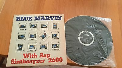 Blue Marvin With Arp Sinthesyzer 2600 Joker Stereo SM 3433 Italy 1973