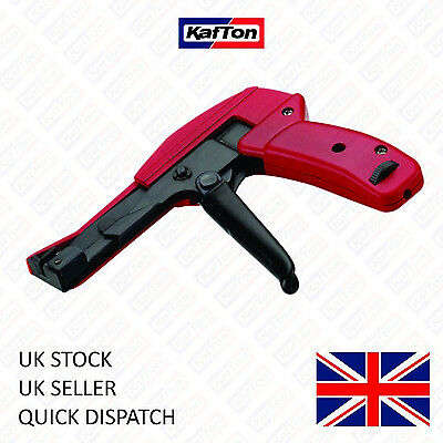 Cable Tie Fastening Gun Tensioner Tool For 2.4mm-4.8mm Wire Ties Cutting Tool