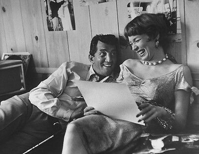 Shirley MacLaine and Dean Martin UNSIGNED photo - H2609