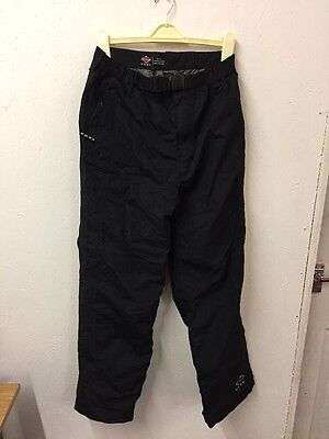 Size Large Black Ski/snow Trousers By Vans