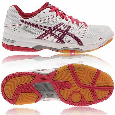 ASICS Gel Rocket 7 Womens / Ladies - Badminton / Squash Shoe Trainer - UK 9