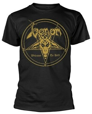Venom 'Welcome To Hell' T-Shirt - NEW & OFFICIAL!