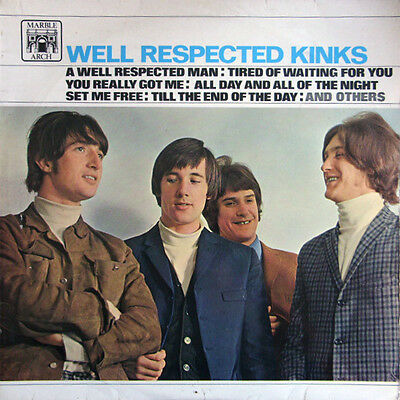 The Kinks - Well Respected Kinks (LP, Comp, Mono, Fli)