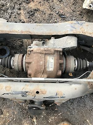 BMW 1 Series 2004 - 2009  E87  118d Rear Diff Differential 3.07
