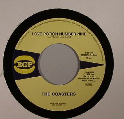 "COASTERS, The - Love Potion Number Nine - Vinyl (limited 7"")"