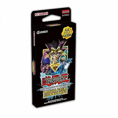 Yu-Gi-Oh The Dark Side of Dimensions Movie Pack - Gold Edition Mini Booster Box