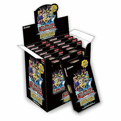 YuGiOh Sealed CDU Box - 10 Packs: The Dark Side of Dimensions Movie Gold Edition