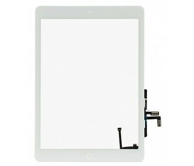 For iPad Air 1st Gen Digitizer Touch Screen Glass & Home Button A1474 - White