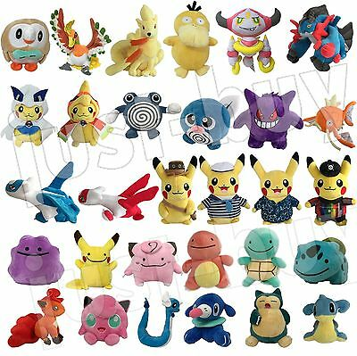 Pokemon GO 2016 Plush NEW Character Soft Toy Stuffed Animal Doll Teddy Figure