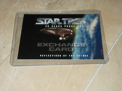 Star Trek 30 Years Phase One fron Skybox Unredemmed Exchange Card MINT