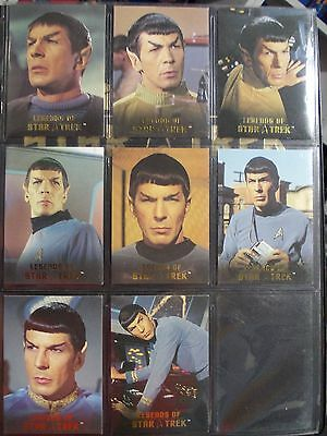 Rittenhouse Star Trek Legends card set SPOCK Leonard Nimoy Choose one