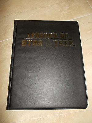Rittenhouse Legends of Star Trek binder /album empty