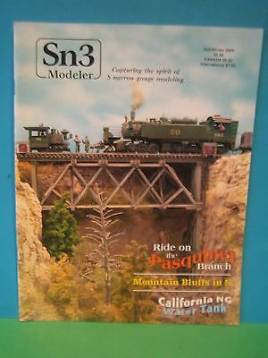 Sn3 MODELER ~ FALL / WINTER 2004 ~ NARROW GAUGE MODELING   EXCELLENT SEE PIC'S