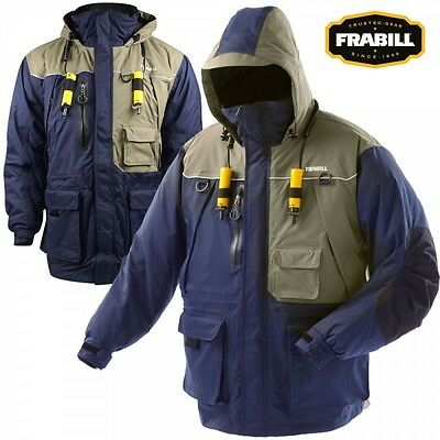 Frabill I4 Series Ice Fishing Suit Jacket Only Choose Size S - 3XL - Color Blue