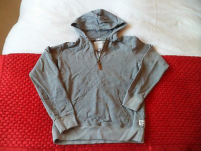 Childs Grey  Fat Face Hoodie 12-13 Years