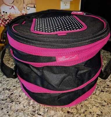 Pampered Chef On The Go Insulated Collapsable Cooler