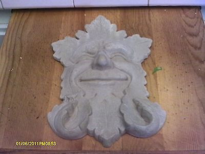 1989 Carruth Studio Wall Plaque  -SMILEY FACE - FANTASTIC