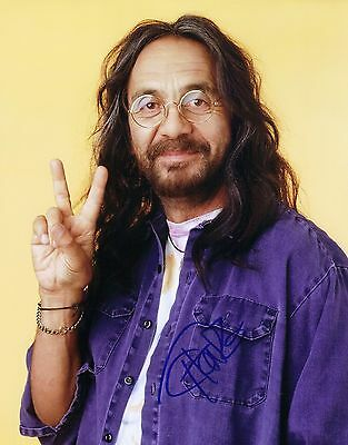Autographed 8X10 Photo Signed By Comedian Tommy Chong Uacc Coa