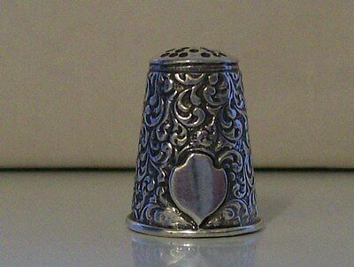 Lovely 925 Sterling Silver Thimble, various Markings to Rim (CJF)