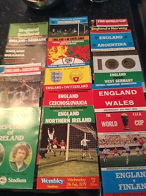 15 X England Homes From 1974 To 1980 V Switzerland, Scotland, Wales Etc