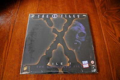 The X-Files - File 1 The unopened file -  Laserdisc