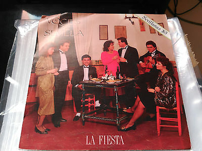 Single Promo Voces De Sevilla - La Fiesta - Zafiro Spain 1988 Vg+