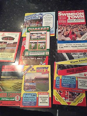 23 X Wigan Athletic Aways From 1985 To 1987