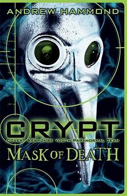 CRYPT: Mask of Death, Hammond, Andrew, New Book