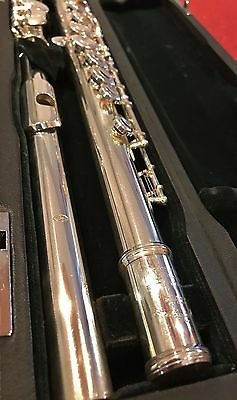 Miyazawa Mc300 Solid Silver Closed-Hole Flute - E Ring Fitted - Superb
