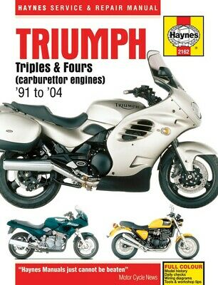 Triumph Thunderbird Sport 900 (885cc) (Carb) 1997-2004 Manuals - Haynes (Each)