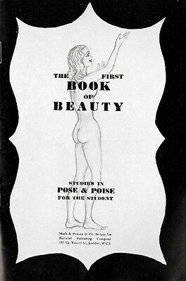 The First Book of Beauty. 16 pages.  Rare vintage glamour.