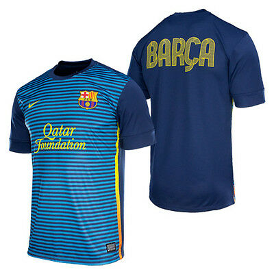 21e07637d40 Nike Fc Barcelona Pre-Match Top 1 Blue.