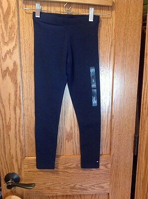 NWT, Tommy Hilfiger, Navy Blue Leggings, Size Small (6/7)