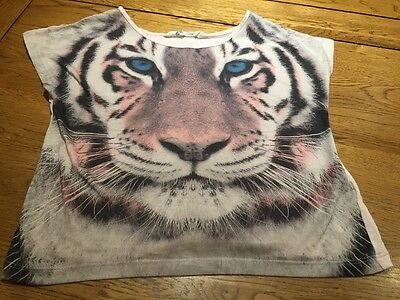 Girls H&M Tiger Top 9-10 Years