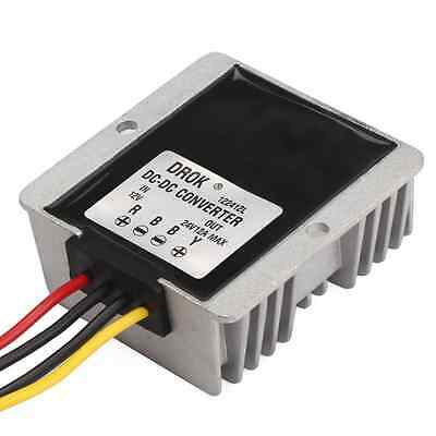 DROK® Waterproof DC-DC Boost Converter 12V to 24V 12A 288W Step-up Volt Regu