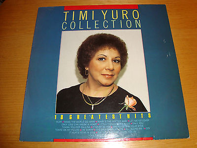 TIMI YURO- COLLECTION- 18Greatest Hits- LP MASTERS Holland