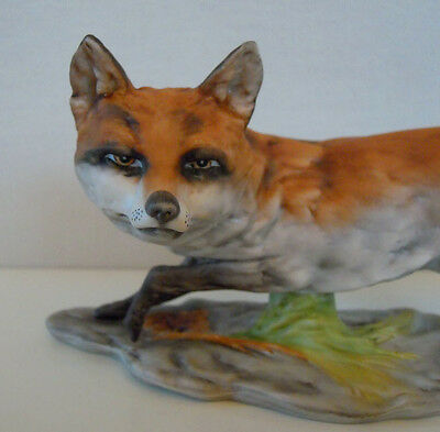 """9"""" COLORED ALBOTH KAISER GERMANY pouncing FOX FIGURINE MINT CONDITION Model 569"""