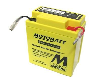 Yamaha XT 500 (Europe) 1976 Battery (Motobatt) (Each)