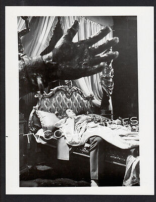 8x10 Photo~ Actress DIANA RIGG lays in bed w Giant Hand entering