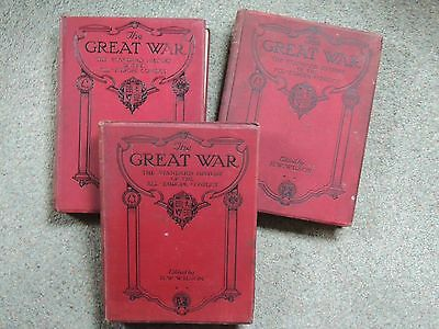 The Great War: The Standard History Of The All Europe Conflict Volumes 1- 7