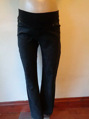 Seraphine Charcoal Under Bump Skinny Slim Fit Maternity Jeans Size 12