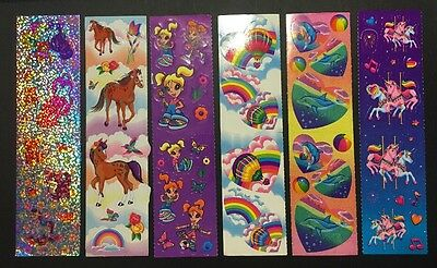 Vintage Lisa Frank Sticker Lot #42