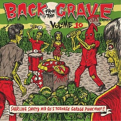 Various-Vol.10-Back From The Grave-Vinyl Lp Crypt Reco Neu