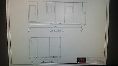 6.9x3.45m Donga Portable Building Relocatable Site Office Transportable