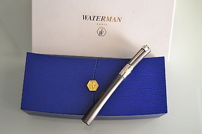 WATERMAN SERENITE Grey Graphite LIMITED Fountain pen 18k  - N.O.S. - MINT !!!