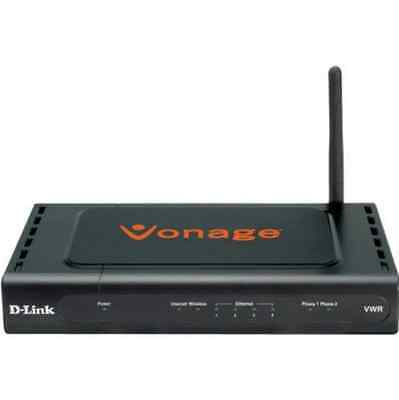 D-Link VWR-VR Broadband Telephone Adapter with Wireless Router for Vonage