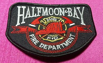 Halfmoon Bay Fire Department Patch New