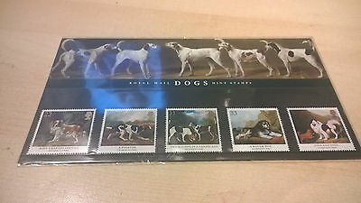 1991 Royal Mail Presentation Pack Dogs Paintings Mint Gb Stamps