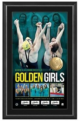 Golden Girls – Women'S 4X100 Metres Freestyle Relay Personally Signed Gold Medal